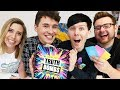 Dan and Phil play TRUTH BOMBS with Tom and Hazel