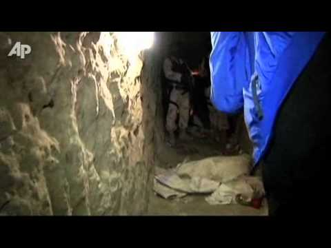 Major Drug Tunnel Linking US, Mexico Discovered