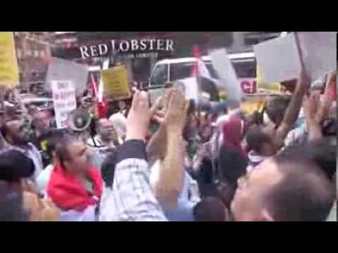 Egypt protest in New York City