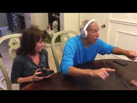 My parents perfect reaction to our baby announcement!