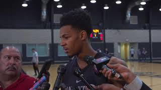 Dejounte Murray on upcoming series vs Golden State Warriors