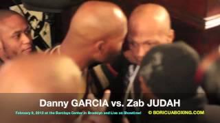 """THE BRAWL"" Danny And Angel GARCIA Vs. Zab JUDAH Raw"