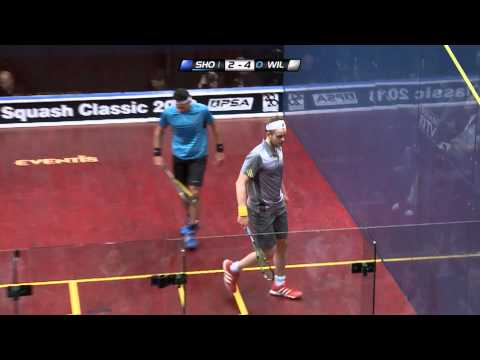 Squash : Quick Hit! Ep.82 - Willstrop v El Shorbagy