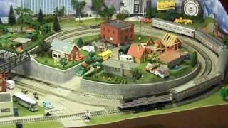 Theresa's HO Model Train Layout