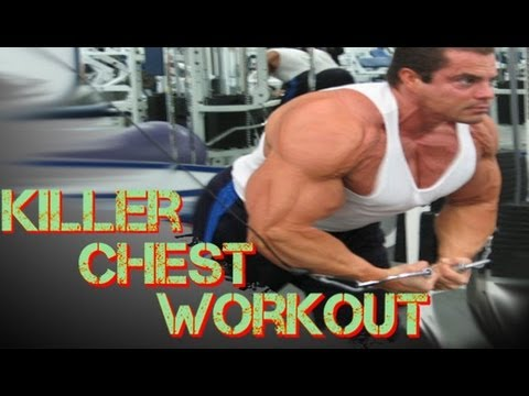 Cable Cross Over Pre-Exhaust Chest Workout