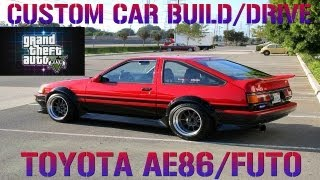 GTA 5 Custom Car Build #15 Toyota AE86/Futo + Airport