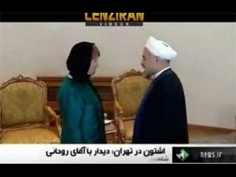 Human Rights in Catherine Ashton  meeting with  officials in Tehran
