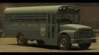 GTA V - RARE POLICE BUS LOCATION