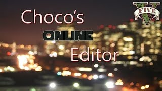 Grand Theft Auto V - Choco's Online Editor - PS3