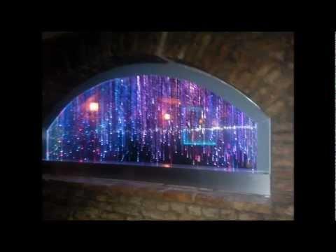 AMENAJARI INTERIOARE - Panou ploaie de lumina, perdea de stele, light wall