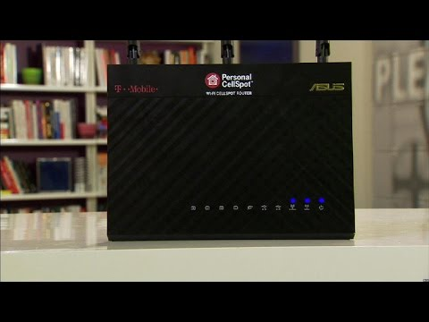 The T-Mobile CellSpot is an award-winning Asus router in disguise