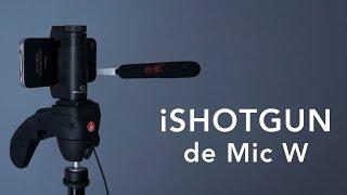 iShotgun, el micrófono externo pensado para el iPhone o iPad