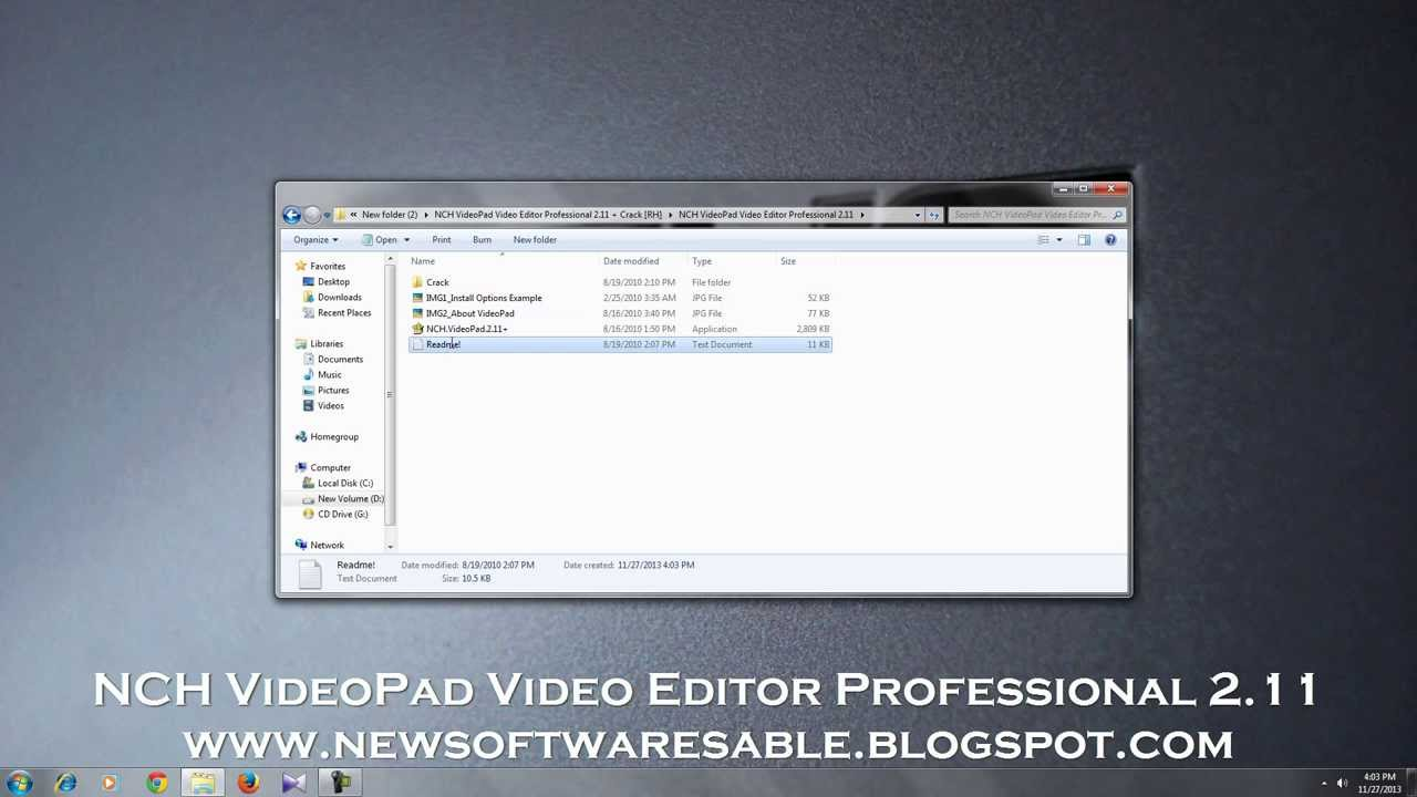 how to download videopad video editor for free