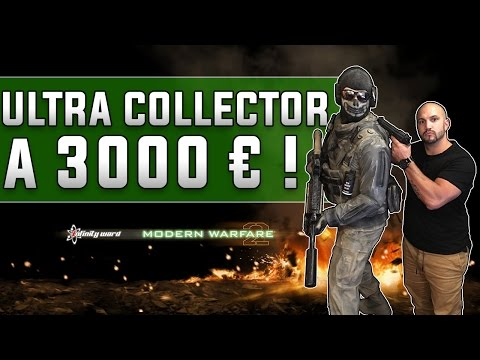Unboxing Ultra Collector MW2 à 3000 Euros!!!