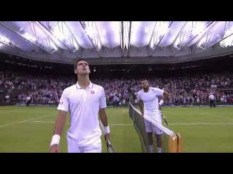 Djokovic hits 'one of the great returns of all time' - Wimbledon 2014