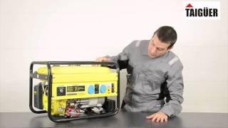 Generador eléctrico gasolina 2500w
