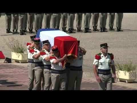 Laudun: hommage au soldat tué au Mali