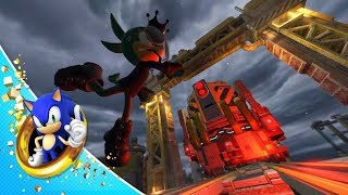 Sonic Forces - Space Port Gameplay