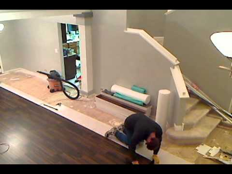 Laminate Flooring Installation Timelapse Youtube