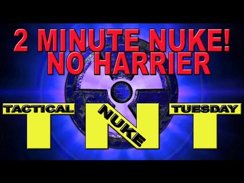 Tactical Nuke Tuesday: 2 Minute Nuke No Harrier! Modern Warfare 2 (TNT)