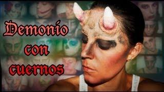 Maquillaje Halloween: Demonio con cuernos
