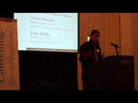 FICKLIN MEDIA NEW HAVEN PROMISE STUDENTS AT CFGNH ANNUAL MEETING PART 2