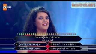 Kim Milyoner Olmak Ister 211. bölüm Dilara Aytekin 29.04.2013