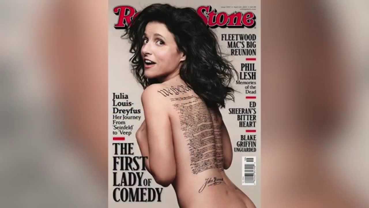 Julia louis dreyfus rolling stone nude