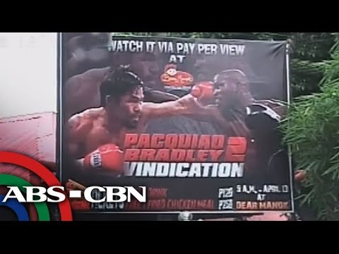 Where to watch Pacquiao-Bradley in Manila?