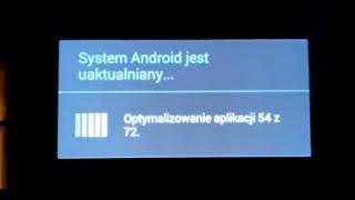 Xperia Z1 Aktualizacja Androida 4.3 Z 4.2.2 PL Jelly Bean