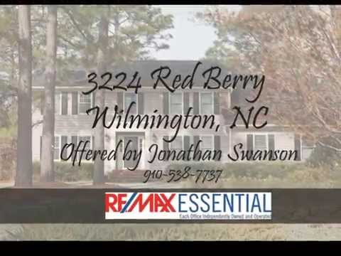 For Sale 3224 Red Berry in Woodberry Forest Wilmington NC