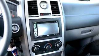 2005-2009 Chrysler 300 2 Din Radio Upgrade And Brushed