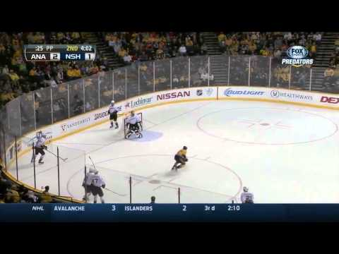Anaheim Ducks vs Nashville Predators 08.02.2014