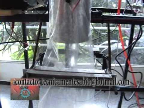 automatismo con PLC empaquetadora vertical tecnicamentesabio
