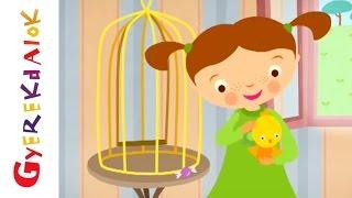 Gyerekdalok - Az árgyélus kismadár