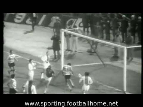 Sporting - 1 Magdeburgo - 1 de 1973/1974 Meia Final Taça Taças
