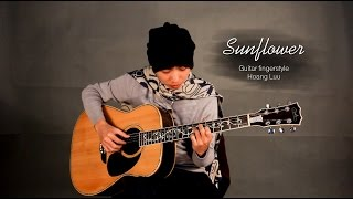 Sunflower - Guitar Fingerstyle Hoang Luu