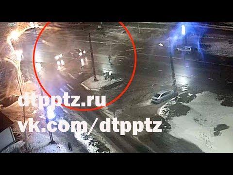На улице Ровио сбили пешехода. Не выезжайте на пешеходный переход, если он не просматривается в обе стороны