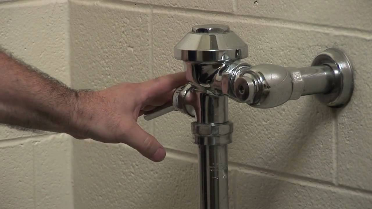 How To Install A Dual Flush Handle In An Existing