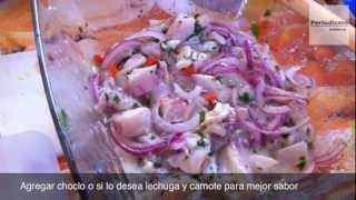 RECETA: Cebiche Peruano De Tilapia (pescado) En 11 Minutos