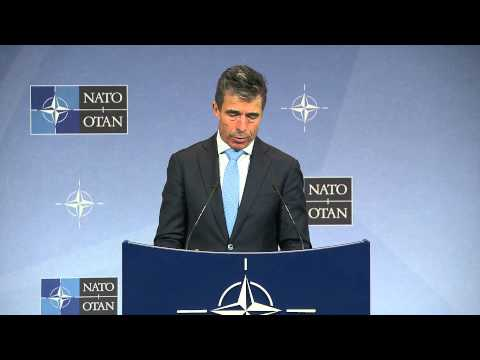 NATO Secretary General - Following Defence Ministers meeting, 03 June 2014, Part 1/2