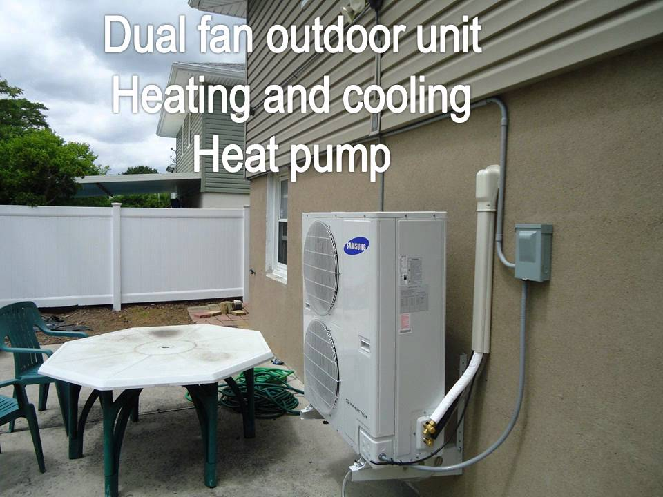 Heat Pump: Samsung Ductless Heat Pump