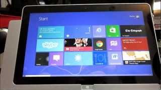Acer Iconia W700 tablet bilgisayar inceleme - İngilizce