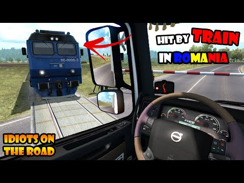 ★ IDIOTS on the road #69 - ETS2MP   Funny moments - Euro Truck Simulator 2 Multiplayer