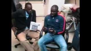 Interview De Pape Diouf A Harlem
