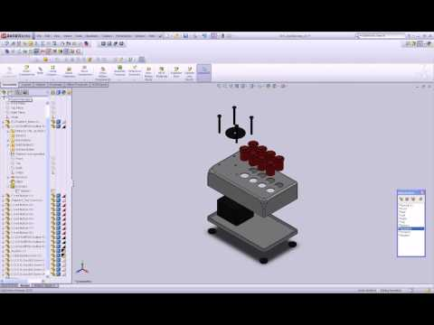 Solidworks Tutorial, Create an Exploded View