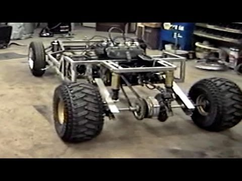 Homemade Go Kart Build Part 1  -NEW-