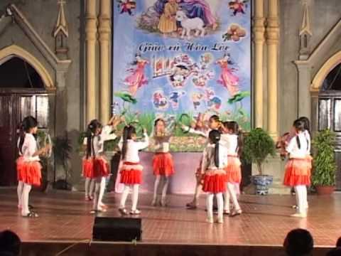 Múa: Vầng Trăng Yêu Thương - Thiếu Nhi Thánh Thể Giáo Xứ Hóa Lộc - Trung thu 2013