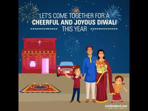 Happy Diwali! - ICICI Lombard