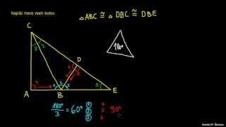 Naloga 2 – ugotavljanje kotov v trikotniku
